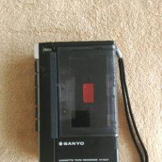 Fonógrafos y grabadoras de válvulas: CASSETE SANYO M1001. Lote 55049955