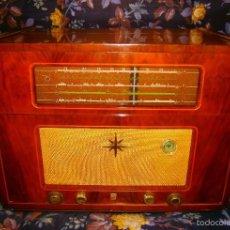 Fonógrafos y grabadoras de válvulas: ANTIGUA Y ESPECTACULAR RADIO/TOCADISCOS DE ALTA CALIDAD PHILIPS Nº50469E FUNCIONANDO PERFECTAMENTE. Lote 55396780