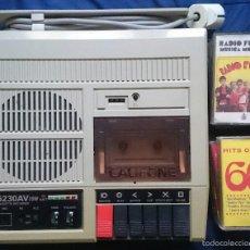 Fonógrafos y grabadoras de válvulas: REPRODUCTOR- GRABADORA DE CASSETTES CALIFONE 5230 AV + LOTE DE 10 CASSETTES VARIADAS.. Lote 58079551