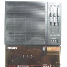 Phonographes et magnétophones à lampes: GRABADORA CASETE PORTATIL - PHILIPS D6350 - VELOCIDAD VARIABLE¡¡FUNCIONANDO¡¡ COMPATIBLE COMPUTADORA. Lote 92081498