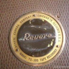 Fonógrafos y grabadoras de válvulas: ANTIGUA GRABADORA REVERE USA VER FOTOS. Lote 60155659