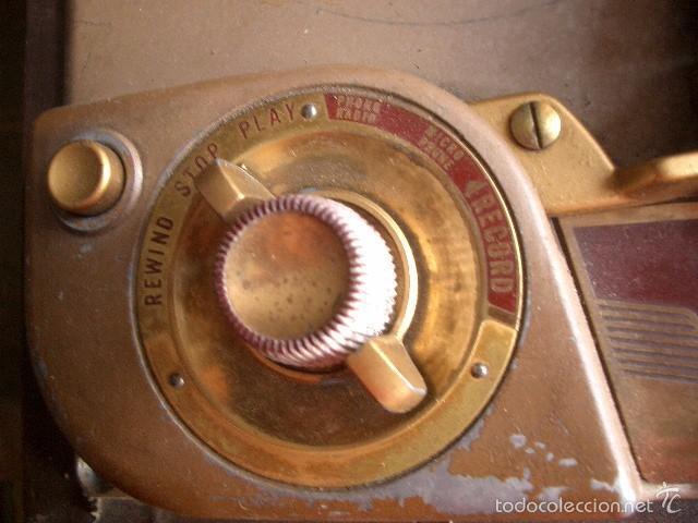 Fonógrafos y grabadoras de válvulas: Antigua grabadora Revere USA Ver fotos - Foto 3 - 60155659