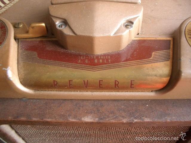 Fonógrafos y grabadoras de válvulas: Antigua grabadora Revere USA Ver fotos - Foto 6 - 60155659