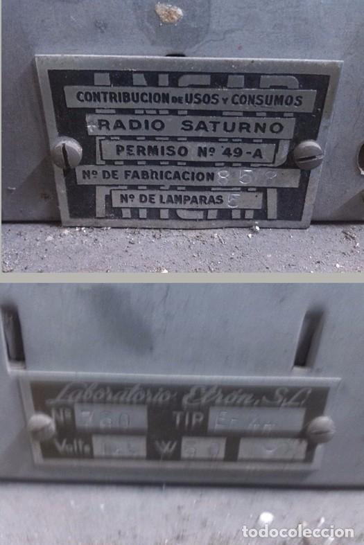 Fonógrafos y grabadoras de válvulas: RADIO COLONIAL DE MADERA - Foto 5 - 64769555