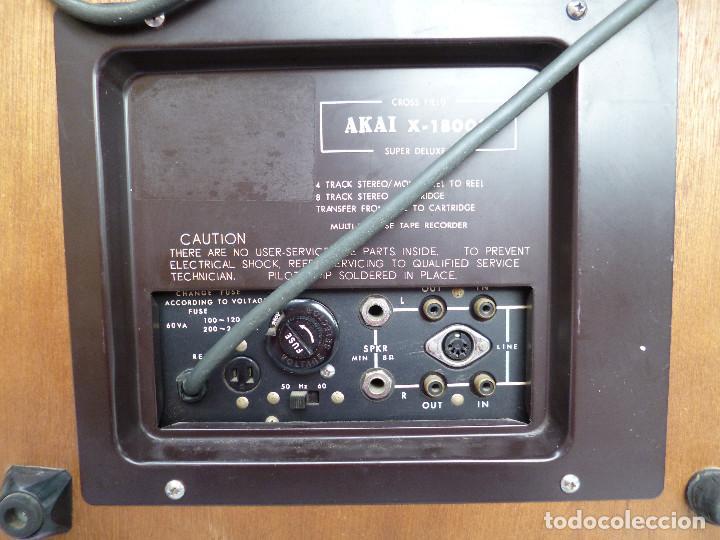 Fonógrafos y grabadoras de válvulas: MAGNETOFONO AKAI - 1800 SD - Foto 3 - 64899807