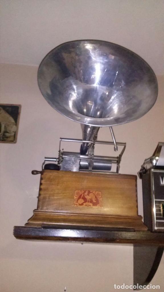 FONÓGRAFO (Radios, Gramófonos, Grabadoras y Otros - Fonógrafos y Grabadoras de Válvulas)