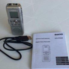 Fonógrafos y grabadoras de válvulas: GRABADORA DIGITAL SANYO ICR-FP500. Lote 72440399
