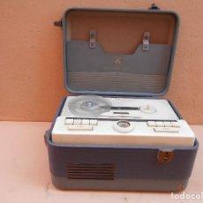 Fonógrafos y grabadoras de válvulas: GRABADORA GRUNDIG REPORTER AÑOS 50. Lote 72844275