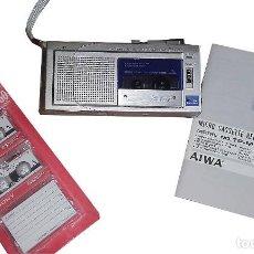 Fonógrafos y grabadoras de válvulas: MICROGRABADORA AIWA TP-M7. Lote 86440136