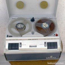 Fonógrafos y grabadoras de válvulas: MAGNETÓFONO ANTIGUO - GRUNDIG TK 23 L DE LUXE AUTOMÁTICO. 4 PISTAS - AÑO 1966. Lote 76750007