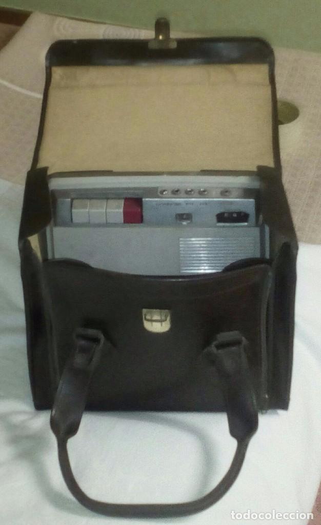 Fonógrafos y grabadoras de válvulas: Antigua grabadora con maletín. - Foto 2 - 80082117
