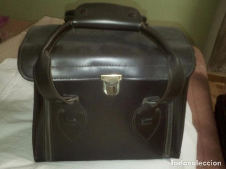 Fonógrafos y grabadoras de válvulas: Antigua grabadora con maletín. - Foto 3 - 80082117