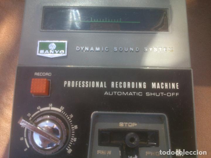 Fonógrafos y grabadoras de válvulas: GRABADORA CASSETTE SANYO M-1302 - Foto 2 - 80411445