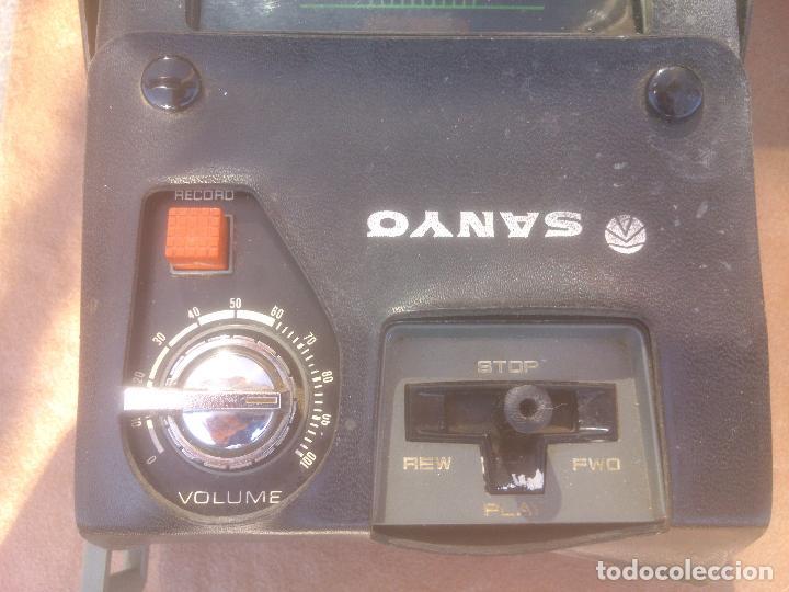 Fonógrafos y grabadoras de válvulas: GRABADORA CASSETTE SANYO M-1302 - Foto 3 - 80411445
