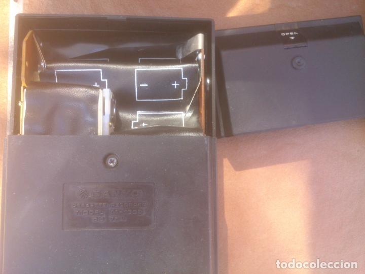 Fonógrafos y grabadoras de válvulas: GRABADORA CASSETTE SANYO M-1302 - Foto 4 - 80411445