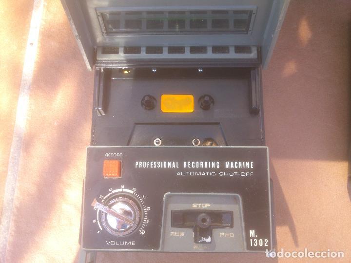 Fonógrafos y grabadoras de válvulas: GRABADORA CASSETTE SANYO M-1302 - Foto 6 - 80411445