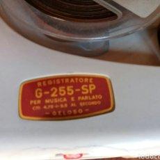 Fonógrafos y grabadoras de válvulas: MAGNETÓFONO VALVULAR GELOSO G255SP. Lote 81783966