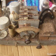 Fonógrafos y grabadoras de válvulas: ANTIGUO CHASIS RADIO A LAMPARAS O VALVULAS . Lote 97459647