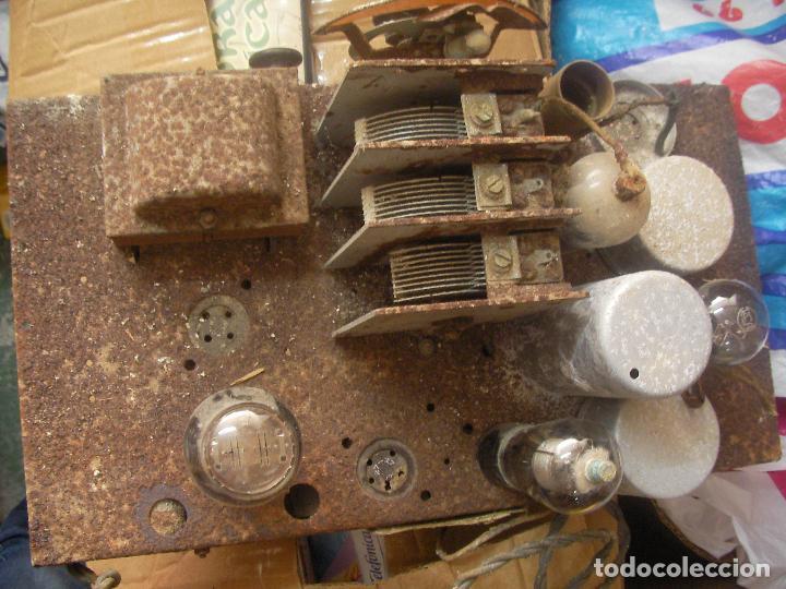 Fonógrafos y grabadoras de válvulas: ANTIGUO CHASIS RADIO A LAMPARAS O VALVULAS - Foto 2 - 97459647