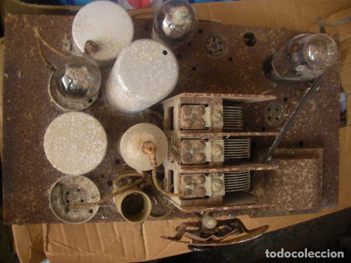 Fonógrafos y grabadoras de válvulas: ANTIGUO CHASIS RADIO A LAMPARAS O VALVULAS - Foto 4 - 97459647