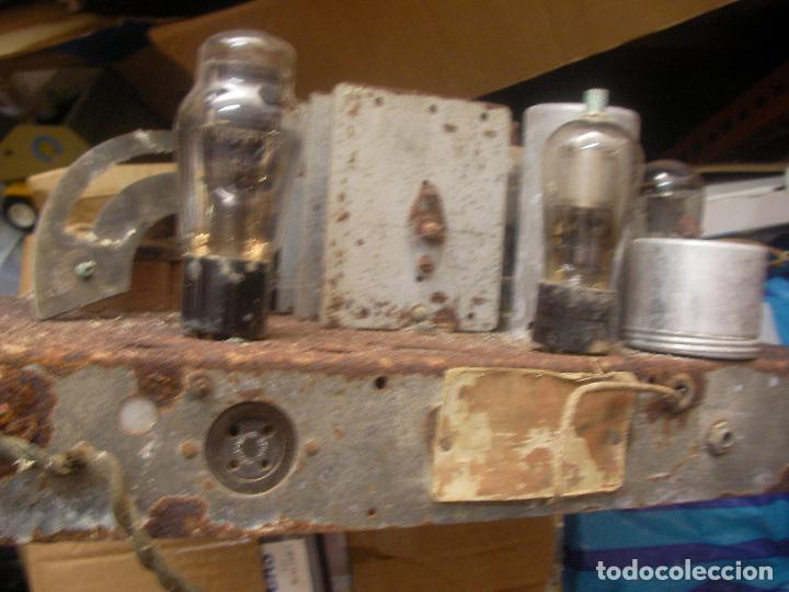 Fonógrafos y grabadoras de válvulas: ANTIGUO CHASIS RADIO A LAMPARAS O VALVULAS - Foto 5 - 97459647