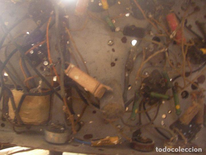 Fonógrafos y grabadoras de válvulas: ANTIGUO CHASIS RADIO A LAMPARAS O VALVULAS - Foto 6 - 97459647
