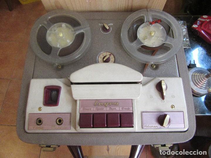 Fonógrafos y grabadoras de válvulas: MAGNETOFÓN INGRA, VINTAGE, - Foto 3 - 102007364