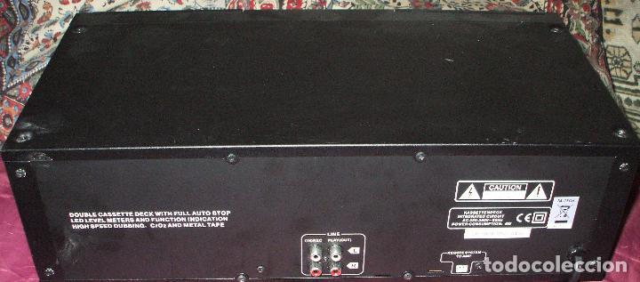 Fonógrafos y grabadoras de válvulas: PLETINA X4-TECH DOBLE CASSETE DECK TP-1000 EN BUEN ESTADO - Foto 2 - 99666519