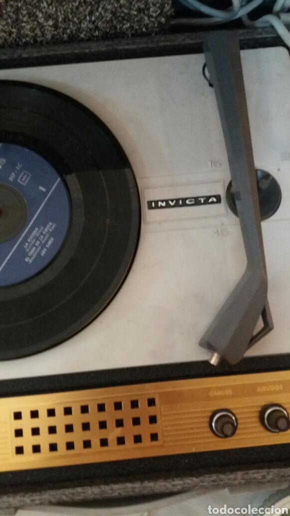 Fonógrafos y grabadoras de válvulas: Tocadiscos invicta de valvulas - Foto 2 - 100362074