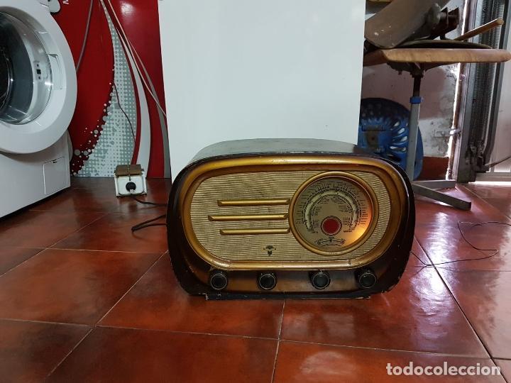 RADIO ANTIGUO GOOD SOUND DE MADERA,FUNCIONA,AÑOS 40 - 50 APROX (Radios, Gramófonos, Grabadoras y Otros - Fonógrafos y Grabadoras de Válvulas)