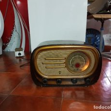 Fonógrafos y grabadoras de válvulas: RADIO ANTIGUO GOOD SOUND DE MADERA,FUNCIONA,AÑOS 40 - 50 APROX. Lote 101958371