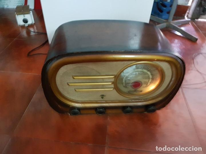 Fonógrafos y grabadoras de válvulas: RADIO ANTIGUO GOOD SOUND DE MADERA,FUNCIONA,AÑOS 40 - 50 APROX - Foto 7 - 101958371