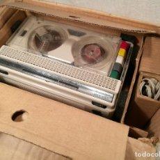 Fonógrafos y grabadoras de válvulas: MAGNETÓFONO GRABADOR MAGNÉTICO GELOSO G 257 AÑOS 60 CON CAJA ORIGINAL. Lote 102158063