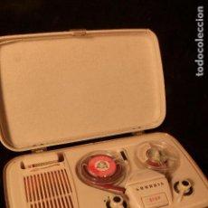 Fonógrafos y grabadoras de válvulas: GRAVADORA GRUNDIG. Lote 104251115