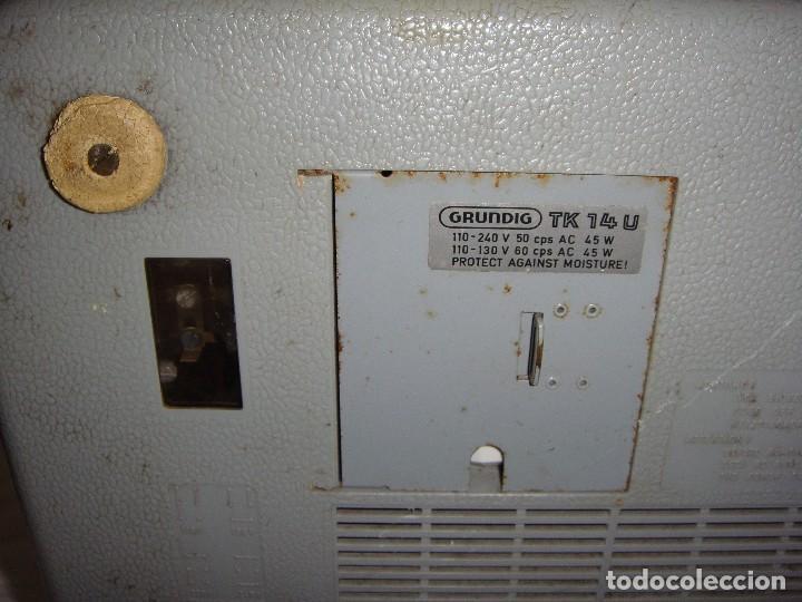 Fonógrafos y grabadoras de válvulas: Grabadora Grundig TK 14 - Foto 6 - 118529663