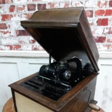 Fonógrafos y grabadoras de válvulas: FONÓGRAFO EDISON AMBEROLA, AÑO 1918 FUNCIONA CORRECTAMENTE. Lote 110692439