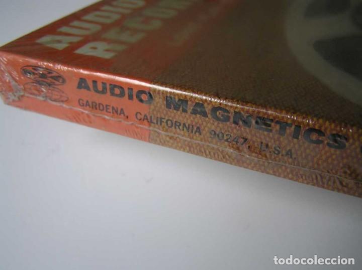 Fonógrafos y grabadoras de válvulas: CINTA MAGNETICA MAGNETOFON MAGNETOFONO 31870 AUDIO MAGNETICS 1800 FEET 7 PULGADAS EN CAJA SIN ABRIR - Foto 18 - 112217171