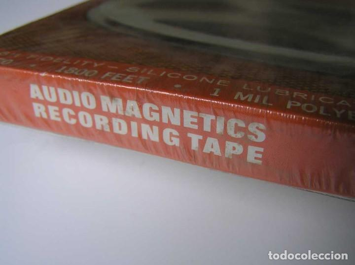 Fonógrafos y grabadoras de válvulas: CINTA MAGNETICA MAGNETOFON MAGNETOFONO 31870 AUDIO MAGNETICS 1800 FEET 7 PULGADAS EN CAJA SIN ABRIR - Foto 22 - 112217171
