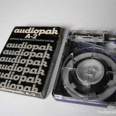 Fonógrafos y grabadoras de válvulas: AUDIOPAK A-2 (NAB LOOP CARTRIGE CART) EN SU CAJA. - FIDELIPAC CARTUCHO MAGNETOFON -. Lote 112224743