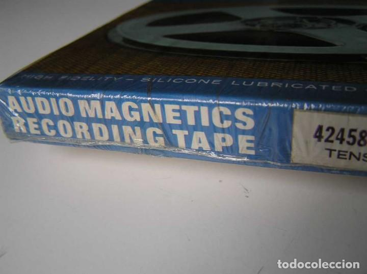 Fonógrafos y grabadoras de válvulas: CINTA MAGNETICA MAGNETOFON MAGNETOFONO 42458 AUDIO MAGNETICS 5 3/4 PULGADAS EN CAJA SIN ABRIR - Foto 4 - 112409623