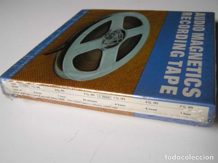 Fonógrafos y grabadoras de válvulas: CINTA MAGNETICA MAGNETOFON MAGNETOFONO 42458 AUDIO MAGNETICS 5 3/4 PULGADAS EN CAJA SIN ABRIR - Foto 8 - 112409623
