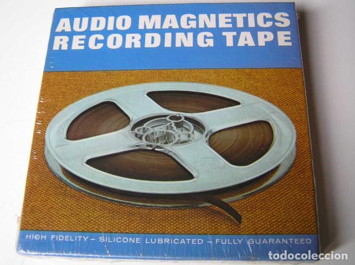 Fonógrafos y grabadoras de válvulas: CINTA MAGNETICA MAGNETOFON MAGNETOFONO 42458 AUDIO MAGNETICS 5 3/4 PULGADAS EN CAJA SIN ABRIR - Foto 12 - 112409623