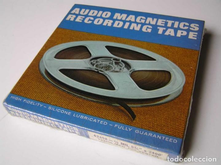 Fonógrafos y grabadoras de válvulas: CINTA MAGNETICA MAGNETOFON MAGNETOFONO 42458 AUDIO MAGNETICS 5 3/4 PULGADAS EN CAJA SIN ABRIR - Foto 13 - 112409623
