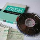 Fonógrafos y grabadoras de válvulas: CINTA MAGNETICA MAGNETOFON MAGNETOFONO IRISH 198 5 INCH REEL RECORDING TAPE. Lote 112414787
