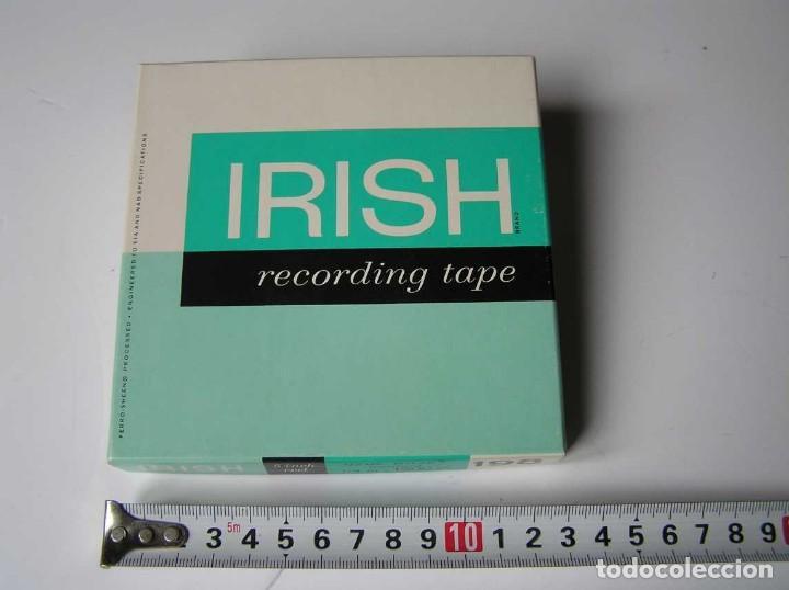 Fonógrafos y grabadoras de válvulas: CINTA MAGNETICA MAGNETOFON MAGNETOFONO IRISH 198 5 INCH REEL RECORDING TAPE - Foto 14 - 112414787