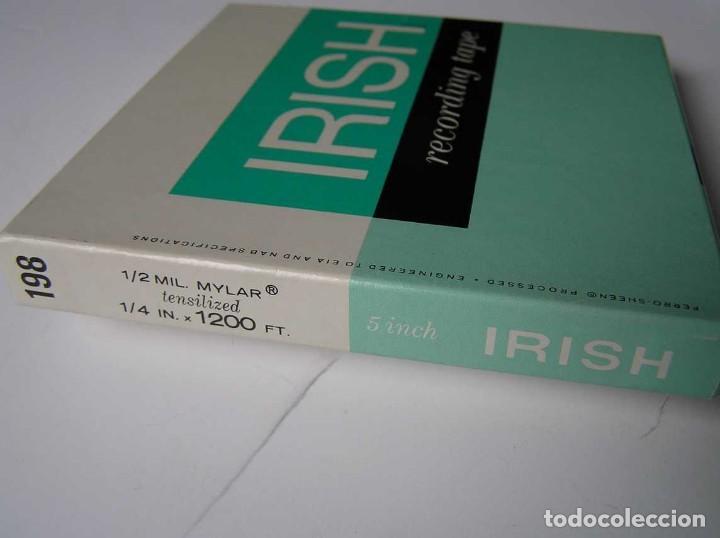 Fonógrafos y grabadoras de válvulas: CINTA MAGNETICA MAGNETOFON MAGNETOFONO IRISH 198 5 INCH REEL RECORDING TAPE - Foto 17 - 112414787