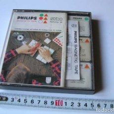 Fonógrafos y grabadoras de válvulas: PHILIPS MAGNETIC TAPE SK10 SPLICING KIT CAJA DE MONTAJE - CINTA MAGNETICA MAGNETOFON MAGNETOFONO. Lote 112954731