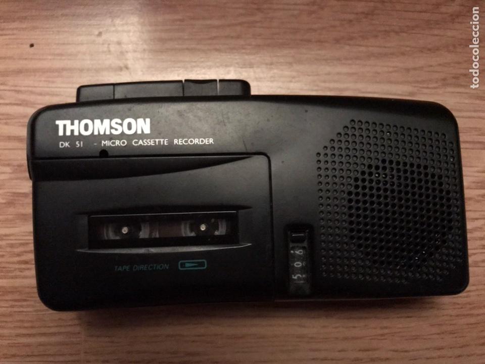 ANTIGUA GRABADOR REPRODUCTOR FUNCIONA PERFECTAMENTE (Radios, Gramófonos, Grabadoras y Otros - Fonógrafos y Grabadoras de Válvulas)