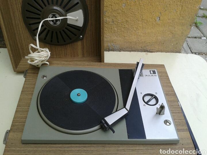 Fonógrafos y grabadoras de válvulas: ANTIGUO TOCADISCO - Foto 6 - 117443767