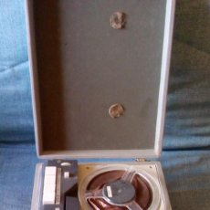 Fonógrafos y grabadoras de válvulas: ORPEI - MUY ANTIGUA GRABADORA PORTATIL - (MAGNETOFONO EN MALETA PORTATIL). Lote 117841439